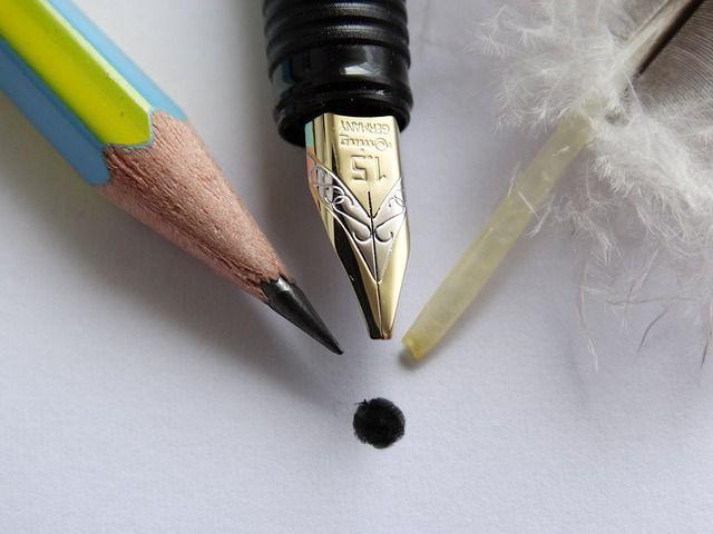 Íróeszközök akkor és most