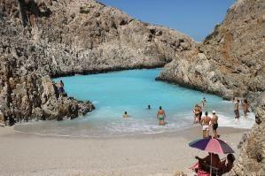 Seitan limania beach, Chania, Crete, Greece by nannie