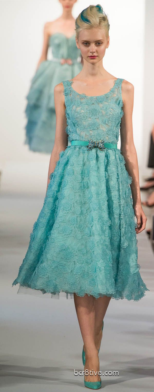 #Oscar De La Renta Spring Summer Ready to Wear 2013 #Trend Ladylike