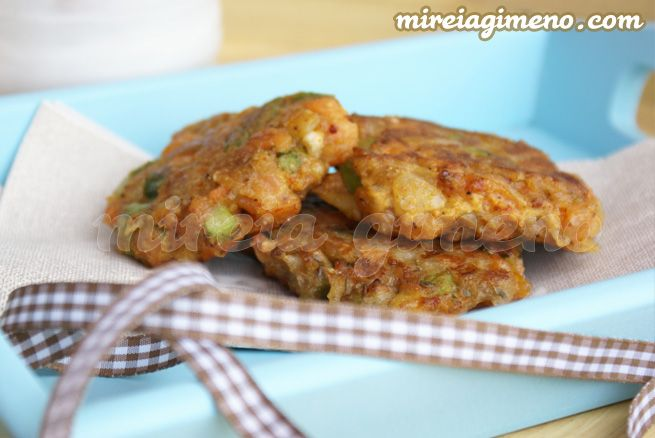 Buñuelos de trigo sarraceno y verduras http://www.mireiagimeno.com/recetas/bunyuelos-de-trigo-sarraceno-y-verduras-sabor-samosa