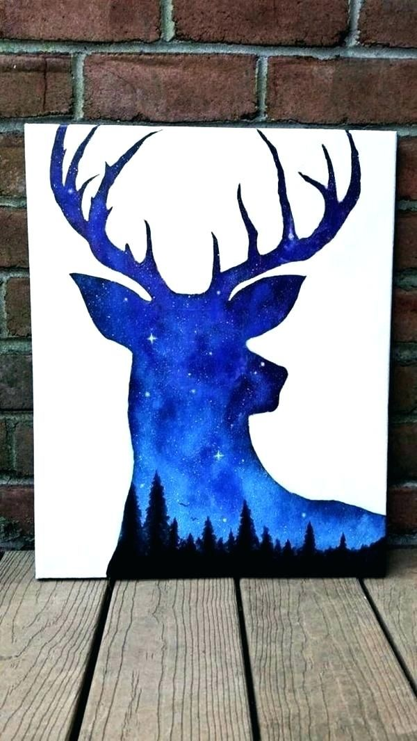 Interesting Canvas Painting Ideas Graceful Creative Cool Paintings