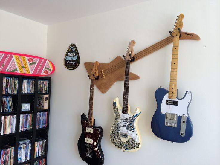 34 Best Wall Axe Custom Guitar Hangers Images On Pinterest