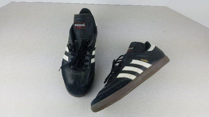 Men Adidas Samba Classic Indoor Soccer Shoe 034563 Black