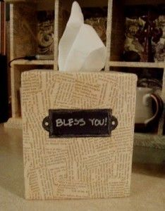 Tissue Box Crafts: Tissue Box Covers You Can Make | Rustic Crafts & Chic Decor