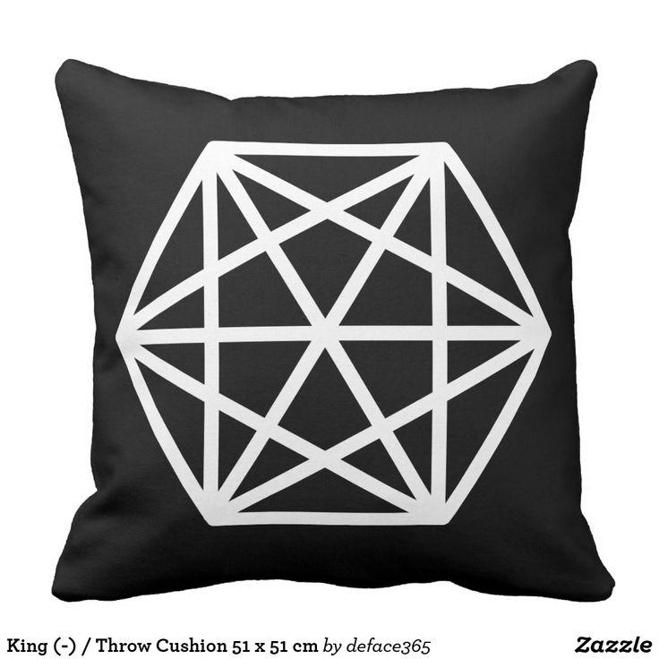 King (-) / Throw Cushion 51 x 51 cm
