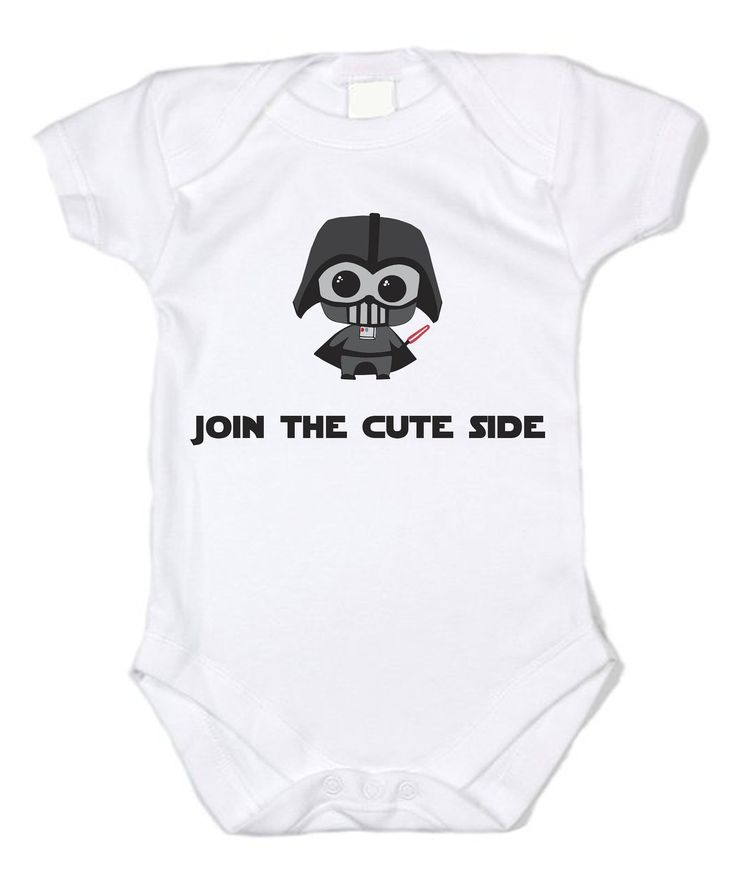 Star Wars Join the Cute Side Unisex Baby Bodysuit