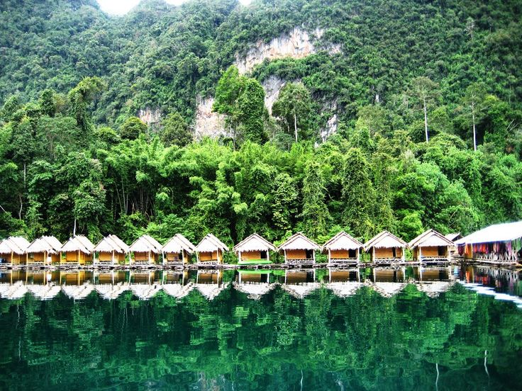 Khao Sok National Park: Stay in riverside bungalows at Khao Sok Rainforest Resort. Photo by goista.com