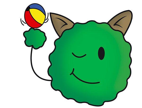 #DiseñoPersonaje Proyecto: Ago-go juego interactivo para niños. Personaje: SPORTY. Descripción: Nuestro ago-go deportista, le gusta correr, saltar y jugar con su pelota. By: Sandra Trujillo