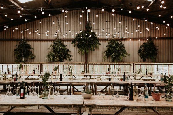 This Welsh Wedding in a Shed is Unbelievably Charming | Junebug Weddings