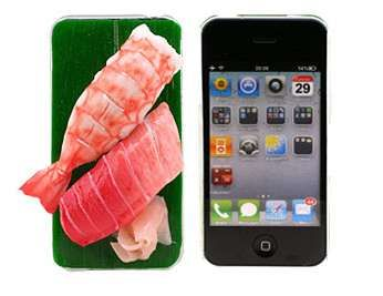 14 Food-Inspired iPhone Accessories - From Meaty iPhone Sleeves to Cupcake Phone Cases (CLUSTER)