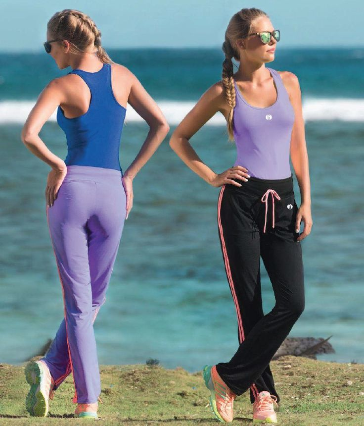 Garotas - Ref: 4738 Shirt and 4806 Pants. Size:S-M-L-XL. Material: Microfiber Nylon - Spandex. Colours: Black, Royal Blue, Mint, Salmon, Lilac, Neon Green.