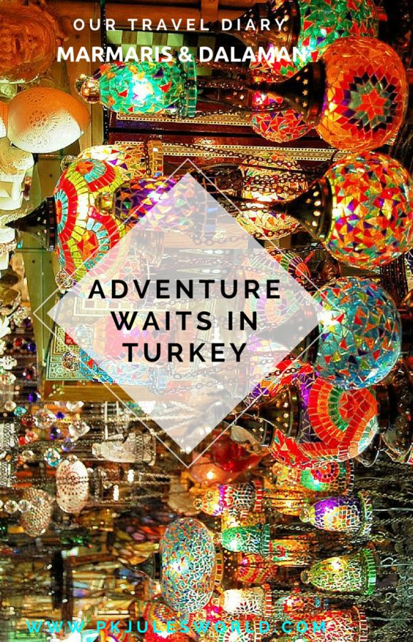 Dreamy Turkey in 7 Days: 9 Things To Do in Marmaris! You will fall in love with #Turkey and #Marmaris is an amazing place to spend some of your Spring, Summer or Autumn! Lots to see and Do and the Weekly Markets are a mus do! Get your bargains and enjoy the riot of colours thats a Turkish Market, Learn more http://www.pkjulesworld.com/dreamy-turkey-9-things-to-do-in-marmaris/