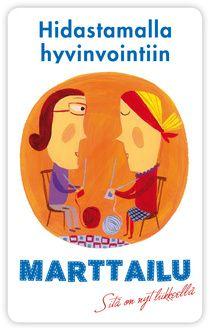 Sanna Wikström - Marttaliiton vinkit hidastamiseen http://hidastaelamaa.fi/2011/03/martat-10-vinkkia-hidastamiseen/