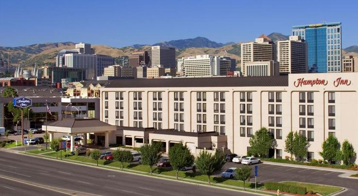 Hampton Inn Salt Lake City Downtown Salt Lake City Located in the city centre of Salt Lake City and 25 minutes' walk from Temple Square, this hotel offers free WiFi in all areas. Guests can enjoy an indoor heated pool and a hot tub. Free breakfast is served each morning.