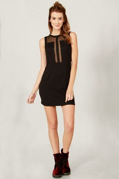 SUGARLIPS - SEE-THROUGH-ME DRESS  $50.00 AUD