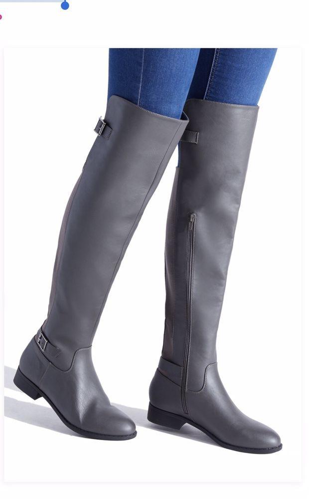 Damens tall Stiefel Größe 8   fashion  8 clothing  schuhe  accessories ... 5b47bd