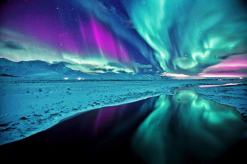 Nature's finest artwork - Aurora Borealis