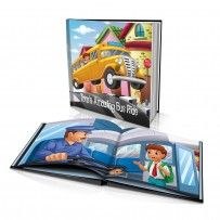 "Personalised Hard Cover Story Book:     ""My Amazing Bus Ride"" / Dinkleboo"