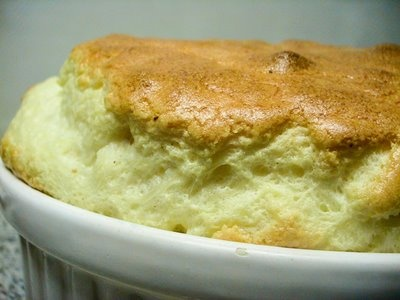 Perfect Cheese Soufflé from The Vegetarian Epicure by Anna Thomas