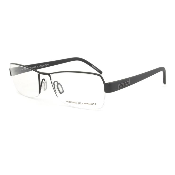 Glasses Frame Porsche : Porsche Design P8210 D Black Eyeglasses Frame by Porsche ...