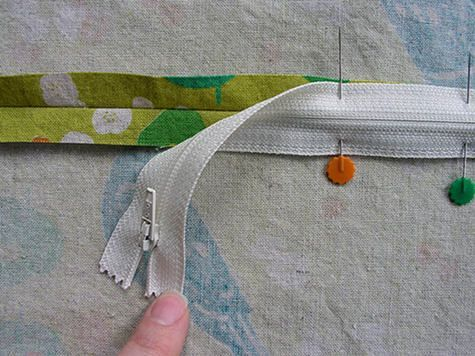 Simple way to install zipper. Genius!