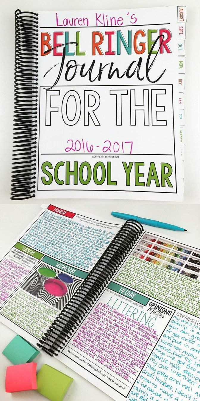 Upper elementary journal prompts | 275 entries for the entire year | grades 3-5