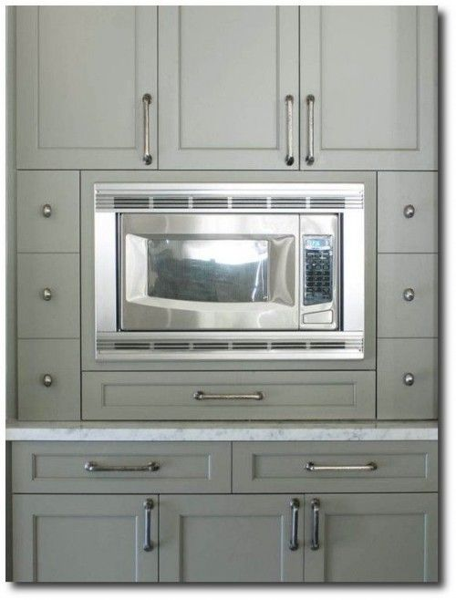 Gray Green Cabinet Paint Color Cottage Kitchen Benjamin Moore