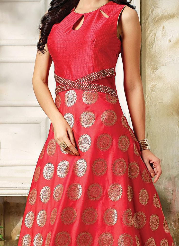 The 25 best floor length anarkali ideas on pinterest for Floor length kurti