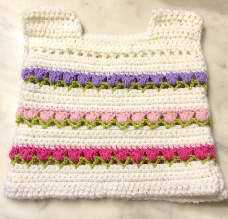 Crochet Vests for baby