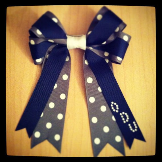 College Inspired Hair Bow $13 http://www.etsy.com/listing/153514751/old-dominion-university-inspired-hair