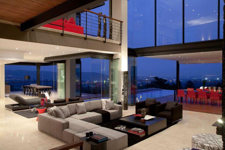 deuxieme etage ouvert, baies vitrees