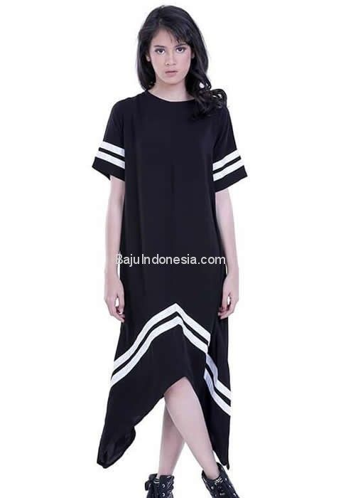 Baju wanita HRC 18-148 cotton hitam All Size. Rp 182.050....