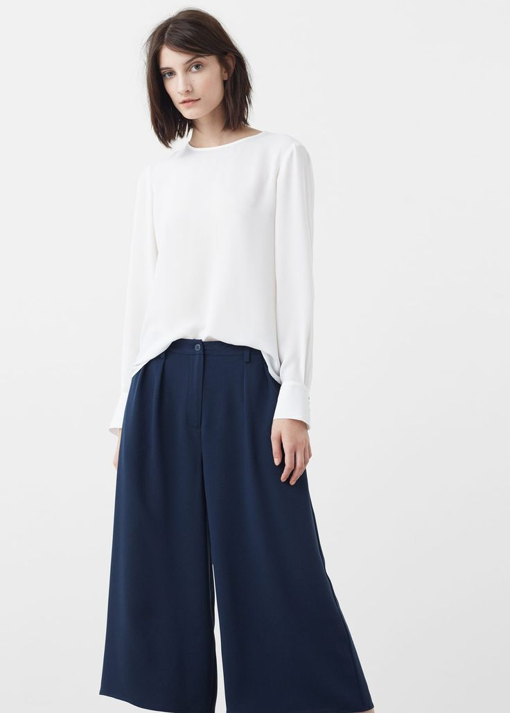 Flowy blouse - Shirts for Women   MANGO USA