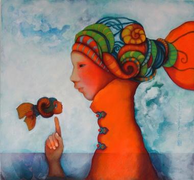 """""""Pesca con Mariposas"""" - Gina Intveen"""