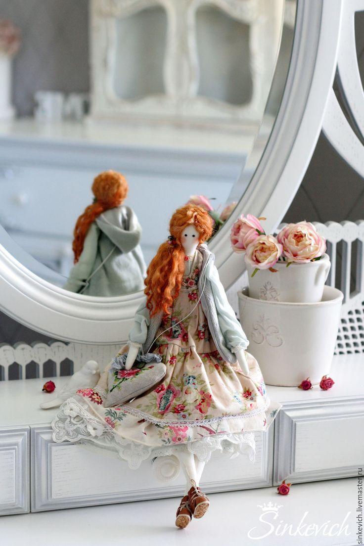 Купить Адриана - тильда, тильда кукла, кукла текстильная, кукла интерьерная, кукла ручной работы