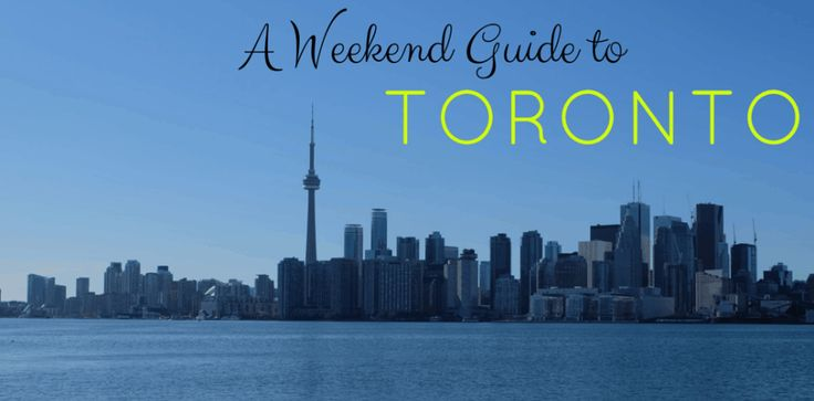 Looking for a long weekend guide to Toronto, Canada? We have answers for where to stay, what to do, and where the best places to eat (and drink) are!