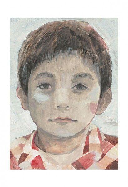 Mingan * Rogé * Boy * Portrait * Acrylic * Graphite * Illustration * Art