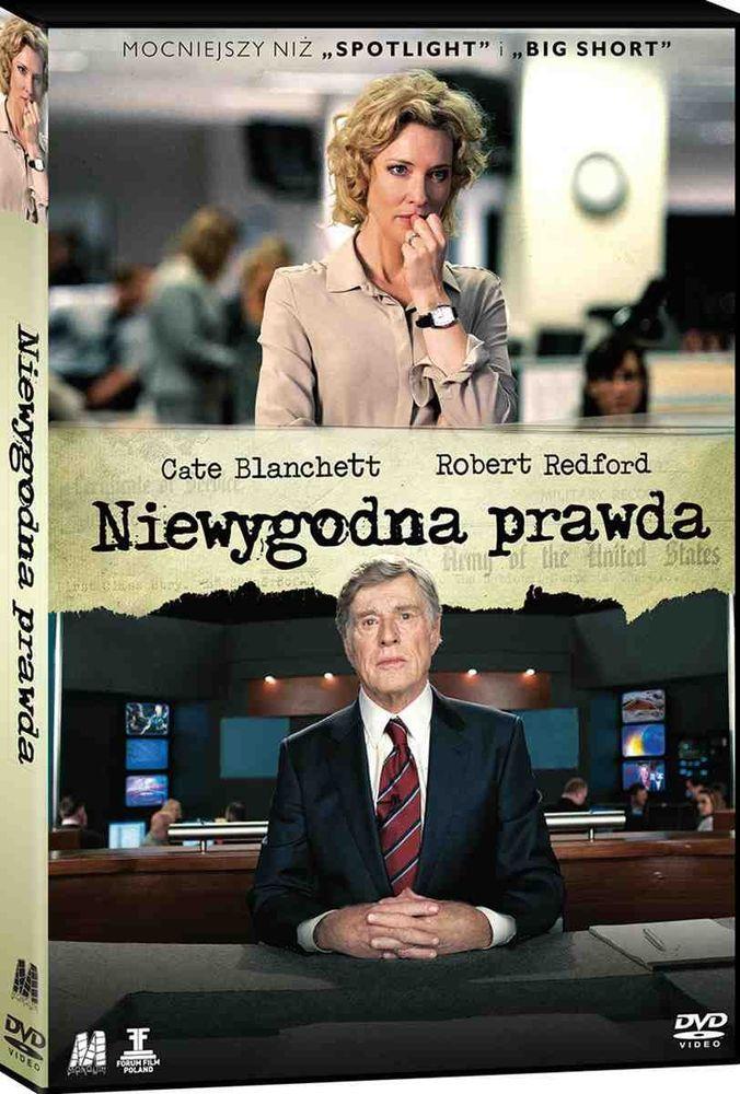 """Niewygodna prawda"" (""Truth""), reż., scen. James Vanderbilt. Obsada: Cate Blanchett, Robert Redford, Topher Grace. 120 min."