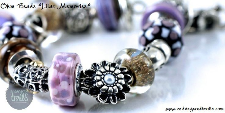 Ohm Beads Limited Edition Lilac Memories (Mother's Day 2014)