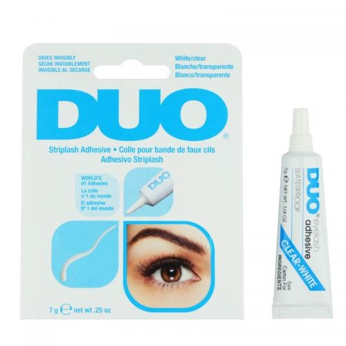DUO Wimpernkleber für Wimpernbänder, durchsichtig, wasserfest, 7g Tube - Kleber & Remover - Zubehör - Wimpern