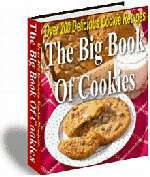 Is there anyone without a memory of their favorite fresh from the oven cookies with milk? With The Big Book Of Cookies you can bring back these great memories or create some new ones, and with The Big Book Of Cookies you will have over 200 cookie recipes to chose from. Whether for holiday treats or just to fill the cookie jar, you will find a cookie that will fill the bill. From the old-fashioned, most requested to the newest and easiest bar cookies, this collection has it all!