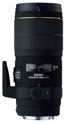 Sigma 180mm f/3.5 EX DG IF HSM APO Macro Lens for Nikon SLR Cameras * You can find out more details at the link of the image.