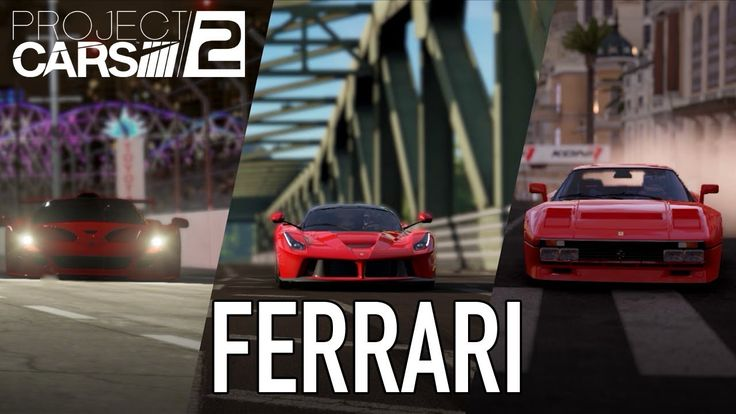 [Video] Project CARS 2 - Ferrari Comes To Project CARS 2 #Playstation4 #PS4 #Sony #videogames #playstation #gamer #games #gaming