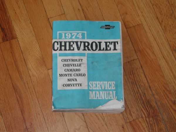 Chevy Service Manuals (Freehold , New Jersey) $15