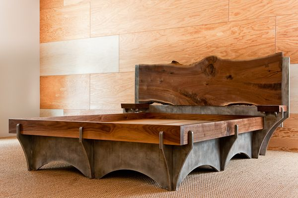 This guy is making some of the coolest arhitectural furniture I've seen...