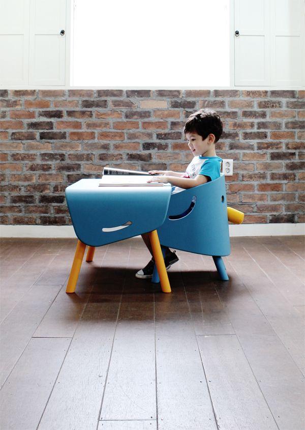 Design divertido em móveis para criança
