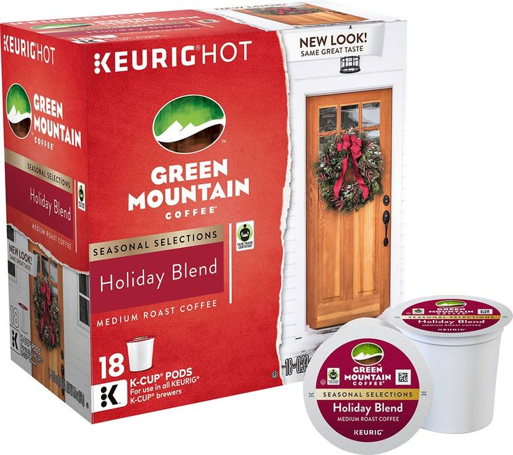 Green Mountain Coffee - Green Mountain Coffee Seasonal Selections K-Cup Pods (18-Pack) - Multi, 114632