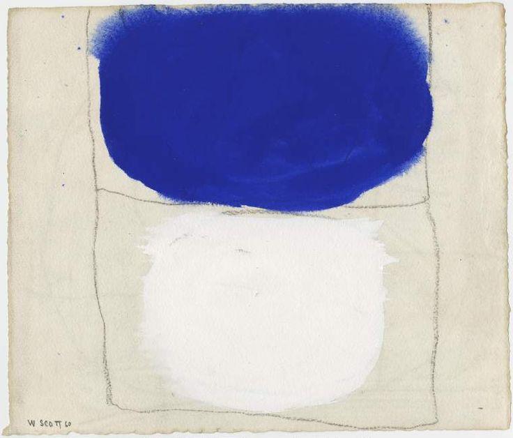 William Scott, [Gouache], 1960, The Fitzwilliam Museum, University of Cambridge