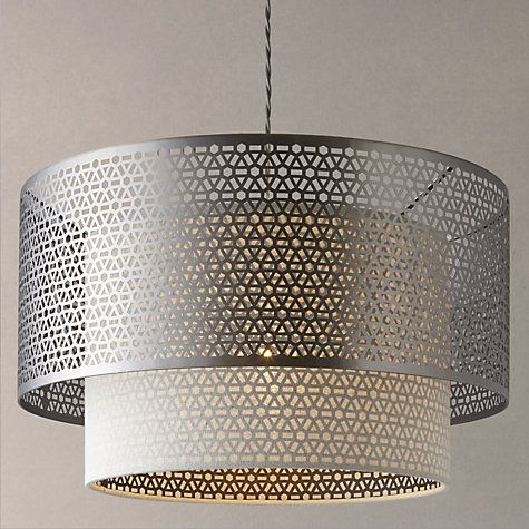 john lewis meena fretwork steel pendant light bedrooms