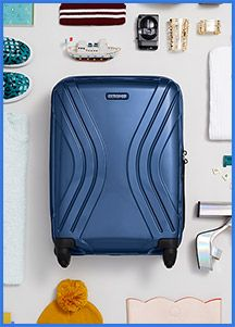 Fix up your globetrotting look with American Tourister and you could win a suitcase and some ASOS vouchers.